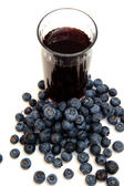Blueberry Juice — Stock Photo