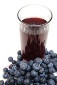 Healthy Blueberry Juice — Stock Photo