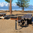 Stock Photo: Lake Tahoe Picnic Area