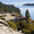 Lake Tahoe Scenic Overlook — Stock Photo