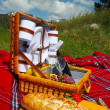 Stock Photo: Picnic Setting