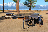 Lake Tahoe Picnic Area — Stock Photo