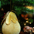 Chritmas Tree Ornamemt — Stock Photo