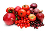 Red Fruit And Vegetables — Stock Photo