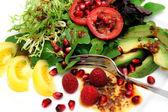 Exotic Salad — Stock Photo