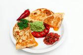 Cheese Quesadilla — Stock Photo