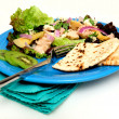 Tuna Salad With Pita Bread - Stock Photo