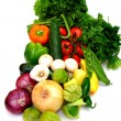 Assorted Vegetables On White — Stock Photo #2191744