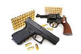 Pistol and Revolver — Stock Photo