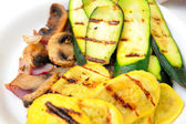 Grilled Squash — Stock Photo