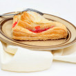 Cherry Turnover Side View — Stock Photo