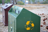 Bear Proof Recycle Container — 图库照片