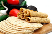 Taquito Closeup — Stockfoto