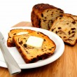 Raisin Cinnamon Toast — Stock Photo
