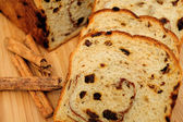 Raisin Bread Closeup — Stock Photo