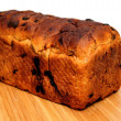 Stock Photo: Raisin Cinnamon Bread Loaf