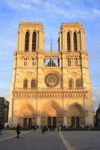 La catedral de notre dame en parís — Foto de Stock