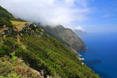 The north coast of Madeira — Stock Photo