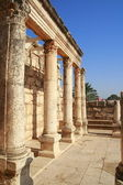 Synagogue in Capernaum — Stock Photo