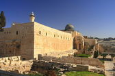The al-Aqsa Mosque — Stock Photo