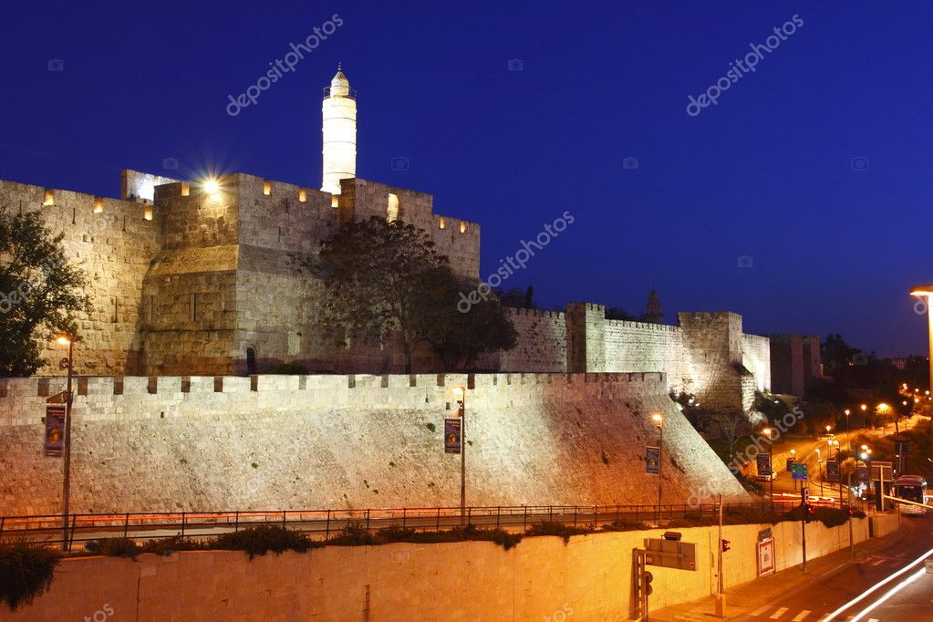 The old city wall of Jerusalem, Israel — Stock Photo #1989541