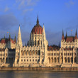 The parliament building in Budapest — Stock Photo
