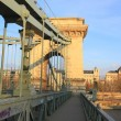 The Chain Bridge - Stock Photo