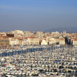 Stock Photo: the old port of marseille