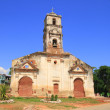 An old church in Trinidad — Stock Photo