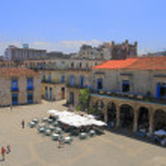 Plaza de la Catedral — Stock Photo