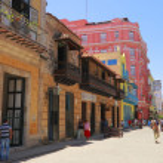A street in Old Havana — Stock Photo