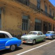Oldtimers in Havana - Stock Photo