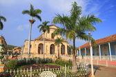 The Plaza Mayor in Trinidad, Cuba — Stock Photo