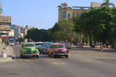 Oldtimers in Havana — Stockfoto