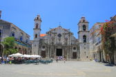 Cathedral of San Cristobal de la Habana — Stock Photo
