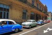 Oldtimers in Havana — Stock Photo