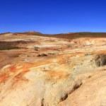 The lava field of Leirhnjukur — Stock Photo