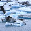 The Jokulsarlon lake — Foto de Stock