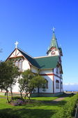 Husavik church — Stock Photo