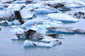 The Jokulsarlon lake — Stock Photo