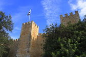 The Castelo de Sao Jorge — Стоковое фото