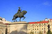 Statue in Lisbon — Stock Photo