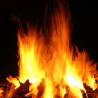 Fiery Flame — Stock Photo