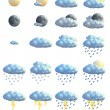 WEATHER ICONS — Stock Photo #1943263