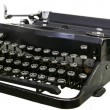 图库照片: Old Vintage Typewriter
