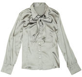Women's grey blouse. — Stock Photo