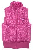 Pink ski vest — Stock Photo