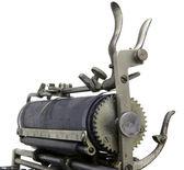 Old Vintage Typewriter — Stock Photo