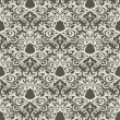 Vector de stock : Floral wallpaper