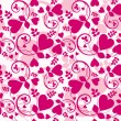 Vector de stock : Heart wallpaper